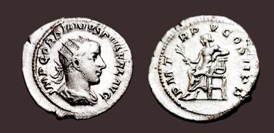 Roman Aeqvitas Avg Lovely Roman Coin Silver Antoninianus Gordian Iii 238-244 Ad